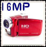 Wholesale Latest inch TFT LCD Video Camera Max to MP Digital HD A70 High Definition X Optical Zoom