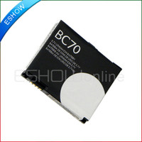 Wholesale A1800 E6 T180 Z8 V750 New mAh BC70 Battery For Motorola Phone B0318M