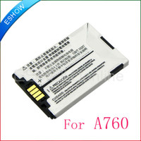 Wholesale A760 A728 E680 V300 V500 New mAh Battery For Motorola Phone B0319M