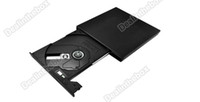 Wholesale Super Slim External USB Portable x CD ROM Drive Laptop Desktop Black For CD VCD CD R CD RW