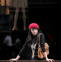 Wholesale 2011 top wool beret fashion WOOL BERET more than colors in stock wool