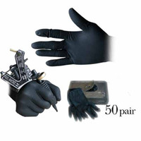 Wholesale Brand new of disposable black tattoo gloves