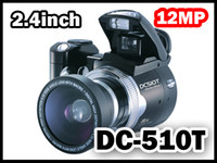 Wholesale DC510T inch TFT MP x Digital Camera Video Camcorder DC500T DC500 upgrade to DC510T Kianorist