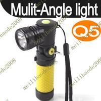 angle flashlight - 10pcs B19 Multi Angle Cree Q5 LED Flashlight Torch Camping Lantern Lamp Light Torch