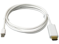 Wholesale Mini DisplayPort to HDMI Adapter cable DP male to HDMI male m length highest video resolution p