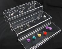 achat en gros de gros bijoux acrylique-WHOLESALE Clear Acrylic 3 couche Jewellery Riser Présentoir
