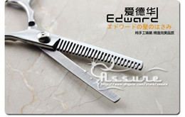 Wholesale Edward Barber scissors Hairdressing scissors Suit Thinning scissors cut level Tool