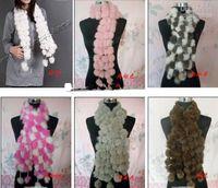 Wholesale Miss rabbit hair four women volleyball scarf PI cao scarf fur rabbit fur scarf
