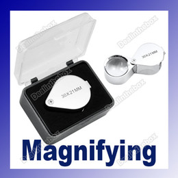 Wholesale 30 x mm Glass Jeweler Loupe Eye Magnifier Magnifying Hot Sale