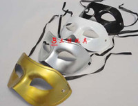 Wholesale 50PCS Venetian mask masquerade party supplies plastic half face mask supplies