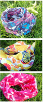 Wholesale Magic Scarf Multifunctional scarf Cute wrinkled scarves wolcome