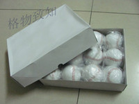 Wholesale pvc leather baseball amp training ball