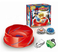 Wholesale Beyblade Metal Fusion Super Vortex Battle Set spinning top toys