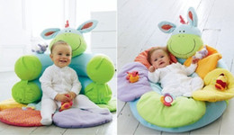 Wholesale Blossom Farm Sit Me Up Cosy Infant Inflatable sofa Baby seat