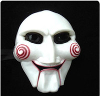 Wholesale Jigsaw Mask Saw Puppet Mask Perfect for Halloween prop props