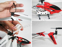 Electric aluminium helicopter - SYMA S107G CH R C Helicopter GYRO Aluminium Fuselage Stable Flight Color S107