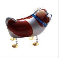 Multicolor balloons dog - helium walking shape balloon walking animal balloon walking pet balloon