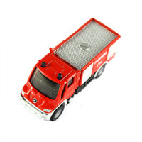 Wholesale Brand New Mercedes Benz Die Cast Fire Engine Model Red toy