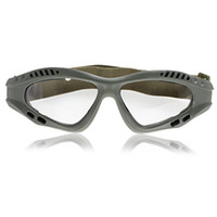 Cheap NEW Transparent Lens Military Goggles with Practical Design(Military Frame)