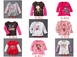 Wholesale Jumping beans Girls shirts long sleeveT shirts new Caters baby children jumpers Tee Shirts