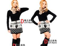 Wholesale New Fashion Women Snowflake Deer skirt Snow pack hip deer wool skirts Knitted skirt