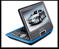 Wholesale 5pcs Christmas gift inch Portable DVD Player TV GAME USB MP4 Various Color