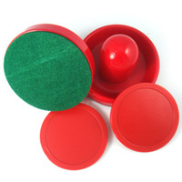 Wholesale set Air Hockey Table Goalies amp Pucks Felt Pushers