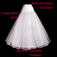 Wholesale A line one hoop lace edge tulle bridal wedding petticoats underskirts slip crinolines P01