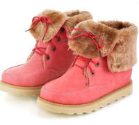 Wholesale New Style hot sale Special hot sale Sweety female lace up casual ankle boots EU34
