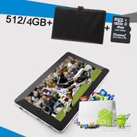 Wholesale 10 quot Flytouch Android X220 P GPS Wifi Tablet PC Free USB keyboard GB TF Card