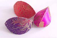 Wholesale Jewelry Gift Box Mini Jewelry Gift Boxes Fashion Silk Flower Colorful Lucky Box