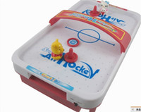 Wholesale MINI TABLE TOP AIR HOCKEY BATTERY OPERATED BOARD GAME Toys for children