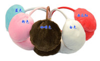 Wholesale hot sale fashion winter plush earmuff ear cover Retail sdte