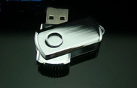 Wholesale Rotary High Speed Full Capacity USB G G FLASH DRIVER Swivel USB DISK U DISK Memory Stick