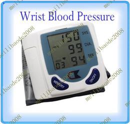 20шт B72 цифровые наручные Монитор артериального давления усилителя; Heart Beat метр контроля от гипертонии