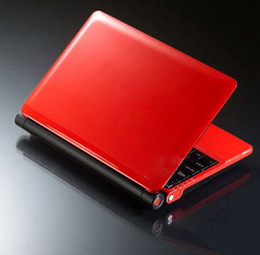 Wholesale New inch netbook D425 GHz GB DDR2 RAM GB SATA HDD WIFI camera laptop S30 colors for chose Christmas