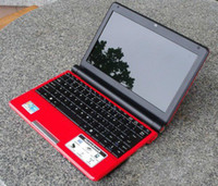 Wholesale 100 brand new inch netbook D425 GHz GB DDR2 RAM GB SATA HDD WIFI camera laptop S30 colors Christmas