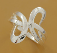 Wholesale Christmas Sterling Silver Ring Jewelry Fashion Sterling Silver Beautif Rings GR798
