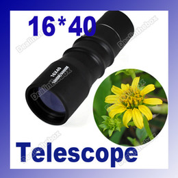 Wholesale Tactical X40 Zoom Lens High Visibility Sports mini Monocular Telescope For Hunting Camping Outdoor