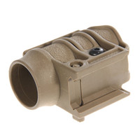 Wholesale Durable New Style Fixed Flashlight Torch Mount Holder Clamp Sand Color
