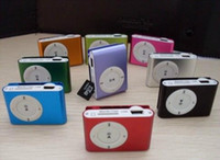 Wholesale Mini MP3 Clip MP3 Player With Micro SD Card TF GB GB GB Memory Card Colors
