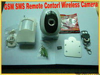 Wholesale New Home Alarm GSM SMS Remote Contorl Wireless Camera MMS Alarm hot sale