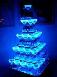 Magic LED Ice Cubes Flash Light 4 Color Crystal Cube For Valentine's Day Party Wedding 12pcs