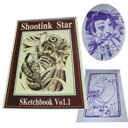 Wholesale 2011 fashion new arrival cute cool hot sell tattoo book flash shootink star hot sell