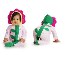 Wholesale winter thick baby romper costums infant s jumpers sunflower shape baby onsies