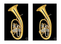 Wholesale Dave Advanced Lacquer Wagner Tuba Horn Valves F Bb