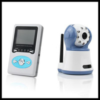Wholesale Digital Baby Monitor Receiver and Camera Video inch LCD Colour CCD CAMERA Model W386D1 CH1 CH4