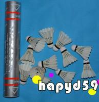 Wholesale new Genuine Silver Wecan badminton shuttlecock shuttlecocks balls durable Competition level