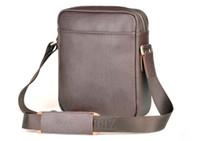 Wholesale Mens Bag Shoulder Tote Dual Function Man Bag Leather Bag Business Bag Case