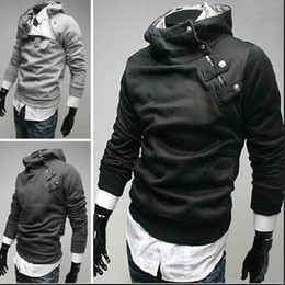 Wholesale Hot Selling Fashion Korea black Men s winter Jacket Hoodie men s Jacket men s Coat Outwear Clothing